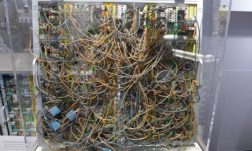 Mound of wires